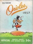 1957 Baltimore Orioles Official Baseball Yearbook