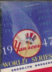 1947 World Series Offcial Program - NY Yankees vs Brooklyn Dodgers -