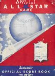 1948 MLB All-Star Game Offcial Program - #2