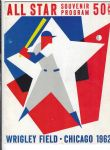 1962 MLB Official All-Star Game Program at Chicago - Better Grade