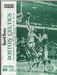 1968 - 69 Boston Celtics (NBA) Official Program with Elite Autographs: Russell, Cousy, KC Jones & Auerbach