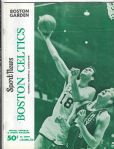 1967 - 68 Boston Celtics (NBA) Official Program vs. Cincinnati Royals