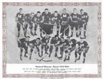 1933 - 34 Montreal Maroons (NHL) CCM Skates Team Photo