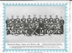 1936 Detroit Red Wings Stanley Cup Champions Team Photo