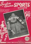 1949 - 50 Boston Bruins (NHL) vs. NY Rangers Hockey Program