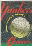 1964 World Series (NY Yankees vs. St. Louis Cardinals) World Series Program