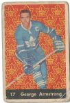 1961 - 62 George Armstrong Parkhurst Hockey Card