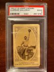 1922 Clarence Galloway (Philadelphia Athletics) E120 American Caramel Card - PSA 1