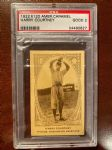 1922 Harry Courtney (Washington Senators) E120 American Caramel Card - PSA 2