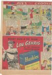 C. 1937 Lou Gehrig (NY Yankees) Fold Open Display Ad