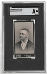 1895 Mayo Cut Plug - Germany Smith * Cincinnati Reds - SGC Graded Authentic Tobacco Card