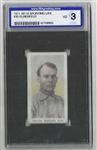 1911 Kid Elberfeld (Washington Senators)  - M116 Sporting Life - ISA Graded Vg 3
