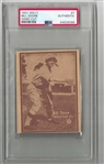 1931 Bill Shore (Philadelphia As)) W517 PSA Graded Authentic Baseball Card