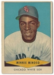 1954 Minnie Minoso (White Sox) Red Heart Baseball Card