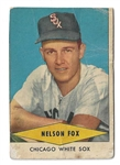 1954 Nellie Fox  ( HOF - White Sox) Red Heart Baseball Card