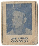1948 Blue Tint                           Luke Appling (White Sox - HOF) Baseball Card