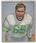 1950 Cliff Patton Bowman Football Card