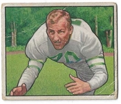 1950 Al Wistert Bowman Football Card