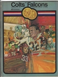 1969 Baltimore Colts (NFL) vs. Atlanta Falcons Official Program