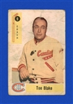 1958 - 59 Toe Blake - Parkhurst Hockey Card