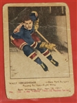 1951 Wally Hergesheimer - Parkhurst Hockey Card