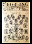 1911 Philadelphia Athletics (World Champions) Sporting Life Composite Front Cover