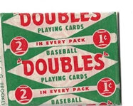 1951 Topps Red Back Unopened Pack - High Grade
