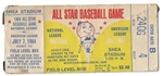 1964 MLB All-Star Game Ticket From Shea Stadium