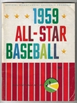 1959 MLB All-Star Game OfficiaL Program at Pittsburgh