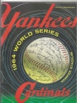1964 World Series (NY Yankees vs. St. Louis Cardinals) World Series Program at NY