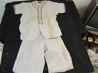 1950s Rawlings Wool Baseball Uniform - Youth Size