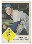 1963 Sandy Koufax (HOF) Fleer Baseball Card