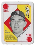 1951 Allie Reynolds (NY Yankees) Topps Red Back Card - Better Grade