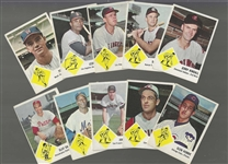 1963 Fleer Baseball Card Lot of (10) - Decent Cards