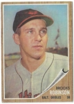 1962 Brooks Robinson (HOF) Topps Baseball Card - Better Grade