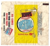 1960 Topps Baseball Wax Pack Wrapper #2