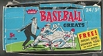 1961 Fleer Baseball Empty Wax Display Box