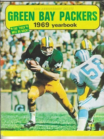 1969 Green Bay Packers 50th Anniversary Yearbook