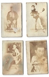 1948 Topps Magic Cards Lot of (4)